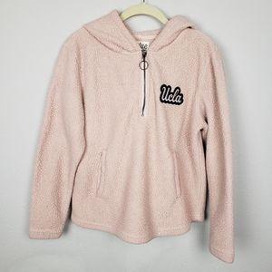 Blue 84 UCLA fuzzy hoodie S
